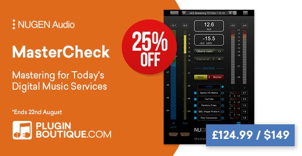 NUGEN Audio MasterCheck 25% OFF