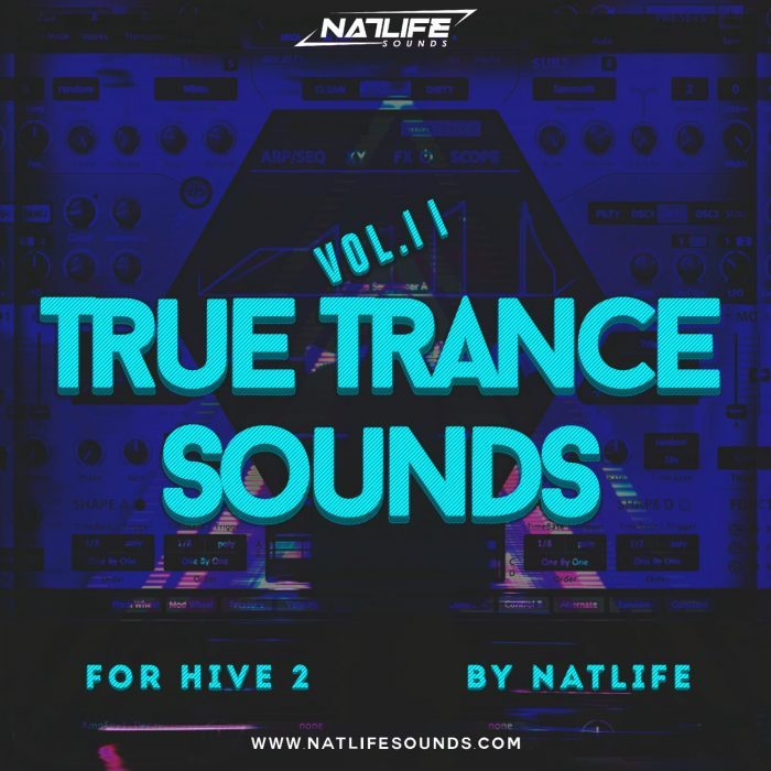 NatLife Sounds True Trance Sounds Vol 11 for Hive 2