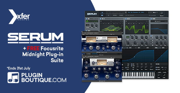 PIB Xfer Serum FREE Midnight Plugin Suite