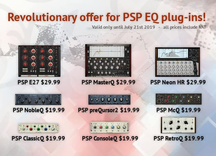 Get PSP Audioware's equalizer plugins starting at $19 99 USD!