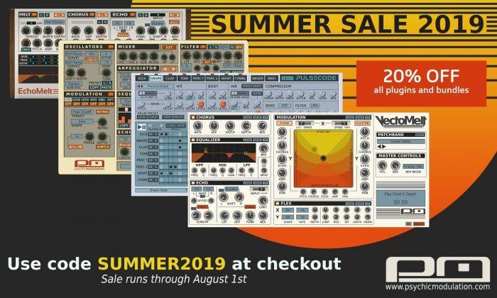 Psychic Modulation Summer Sale 2019