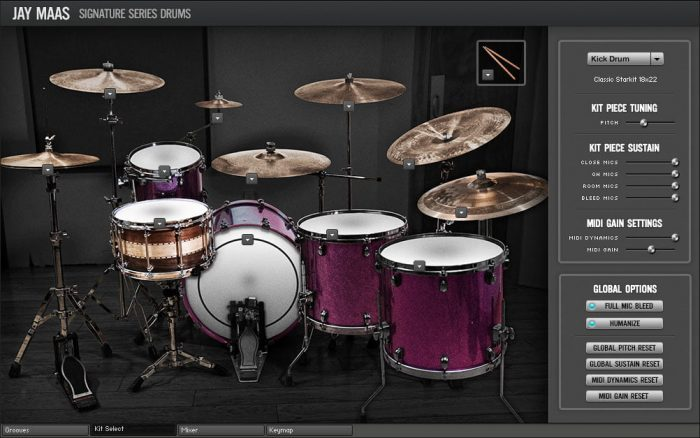 Room Sound Jay Maas Signature Series Drums