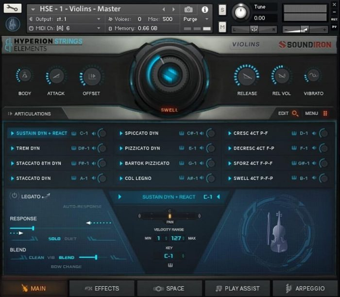 Soundiron Hyperion Strings Elements