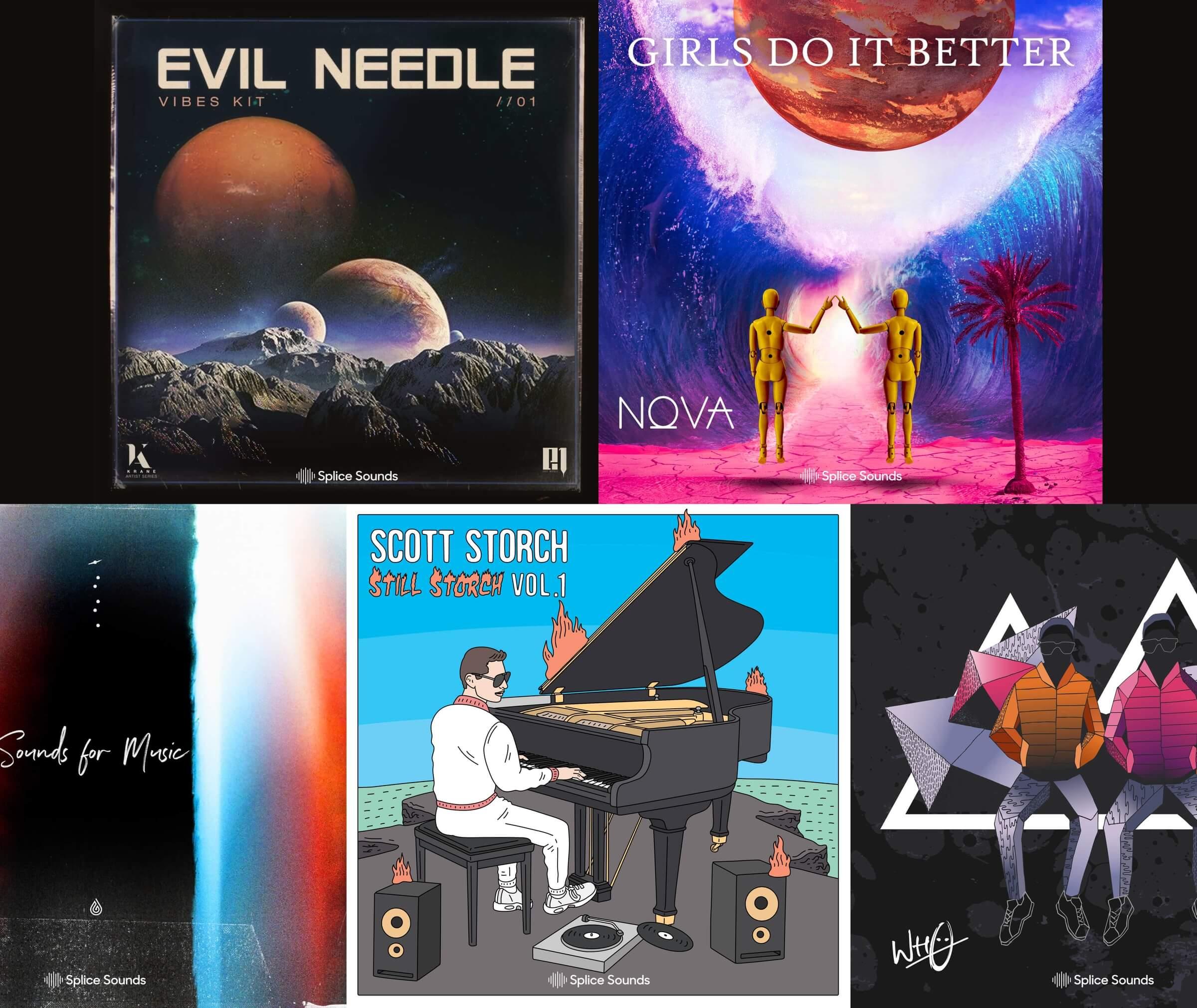 New sounds from Evil Needle, Scott Storch, Yoe Mase, Nova