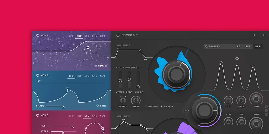 Download presets by BT for Softube's Parallels synthesizer