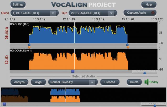 Synchro Arts VocALign Project ARA