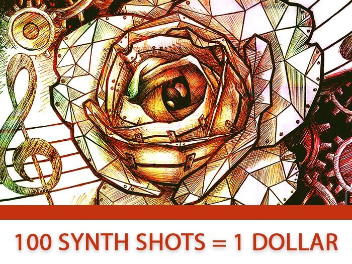 Thyphonic Samples Vicious Synth Shots