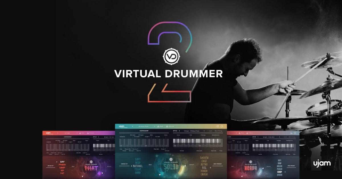 UJAM releases version 2 of Virtual Drummer Series virtual
