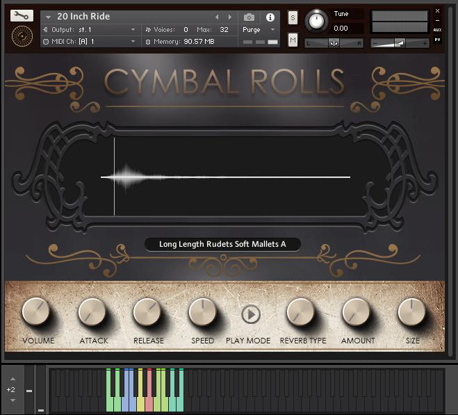 VST Buzz Cymbal Rolls