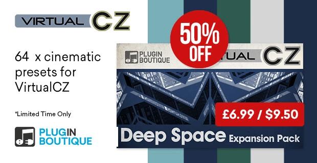 VirtualCZ Deep Space Expansion 50% off