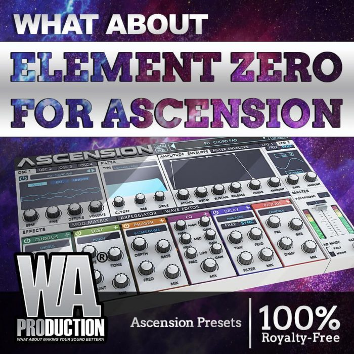 W.A. Production Element Zero Expansion for Ascension