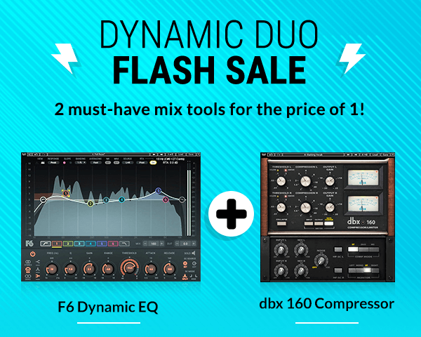Waves Dynamic Duo Flash Sale
