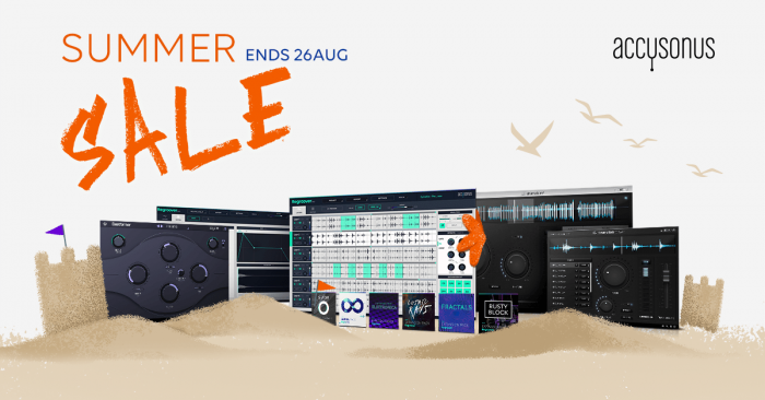 Accusonus Summer Sale 2019