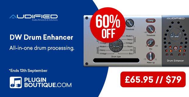 Audified DW Drum Enhancer 60% OFF
