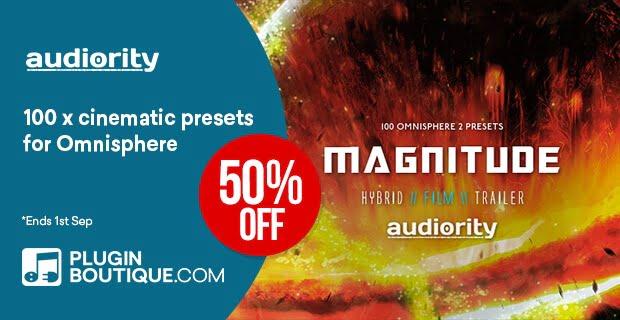 Audiority Omnisphere Magnitude 50% OFF