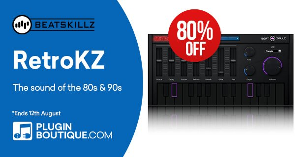Beatskillz RetroKZ 80% OFF
