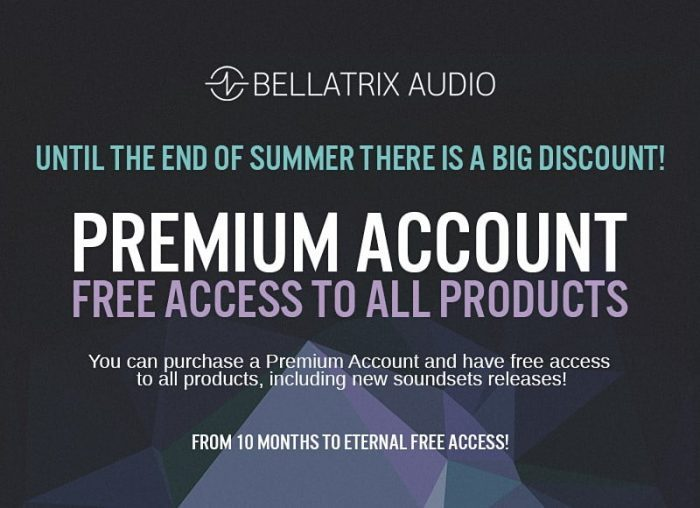 Bellatrix Audio Premium Subscription