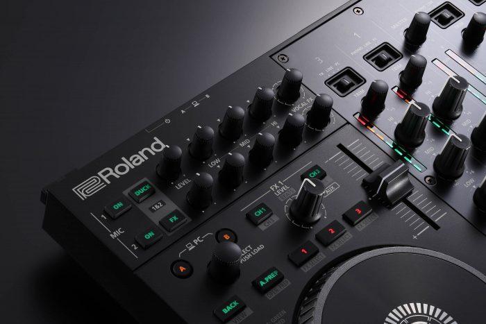 DJ707M mic con