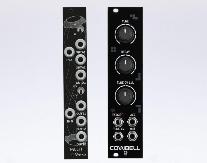 Erica Synths Cowbell & Black Multi