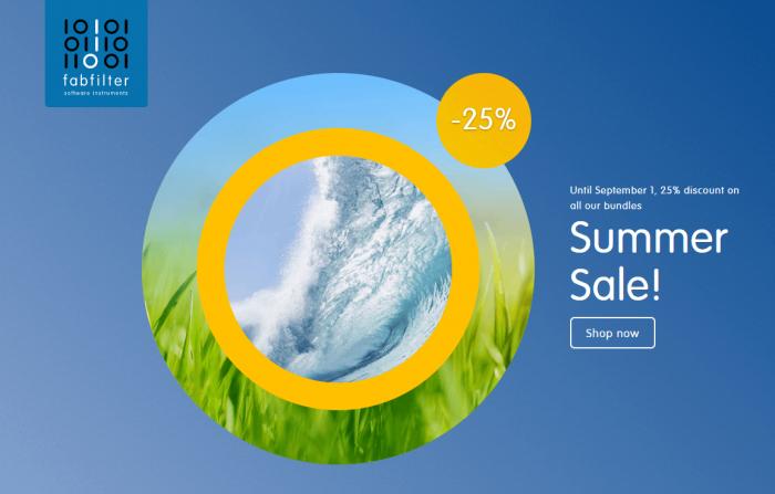 FabFilter Summer Sale