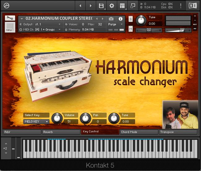 GBR Loops Harmonium Scale Changer