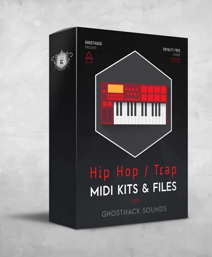 Ghosthack Hip Hop Trap MIDI