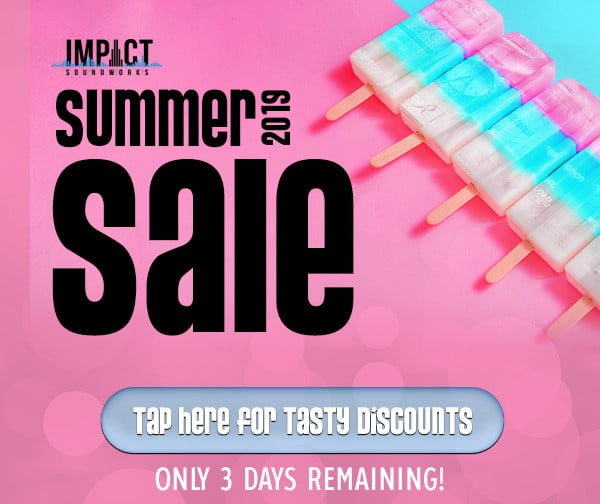 Impact Soundworks Summer Sale 2019 ends