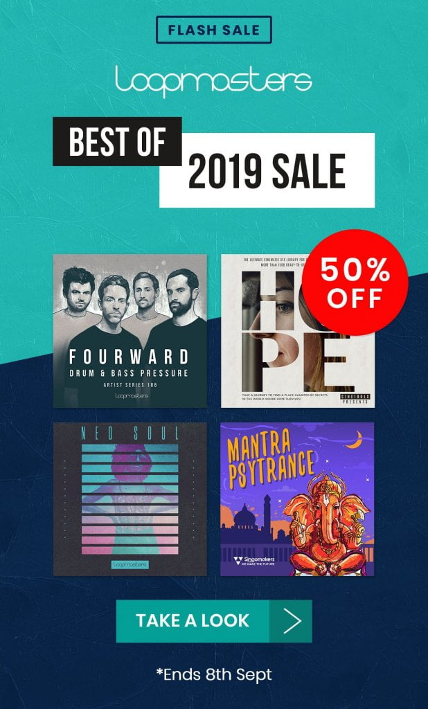 Loopmasters Best of 2019 Sale