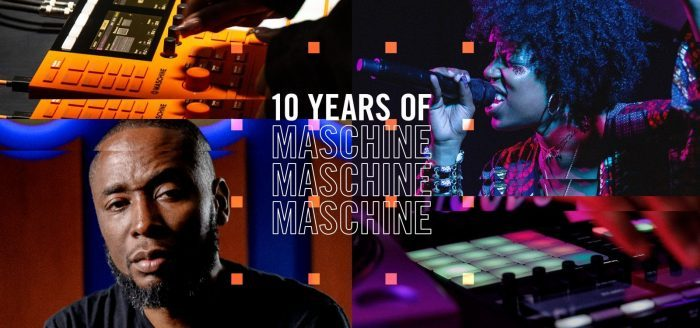 NI 10 years of Maschine