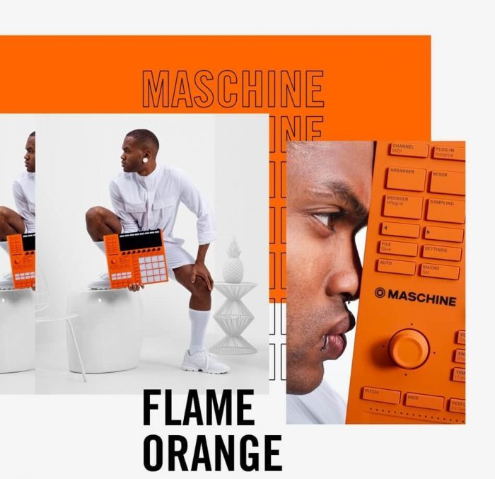 NI Maschine Flame Limited Edition
