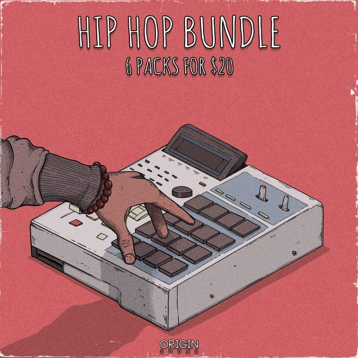 Origin Sound Hip Hop Bundle 6 Packs for 20 USD