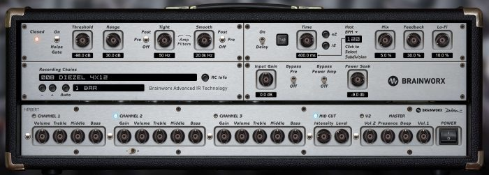 Plugin Alliance Diezel Herbert Rack
