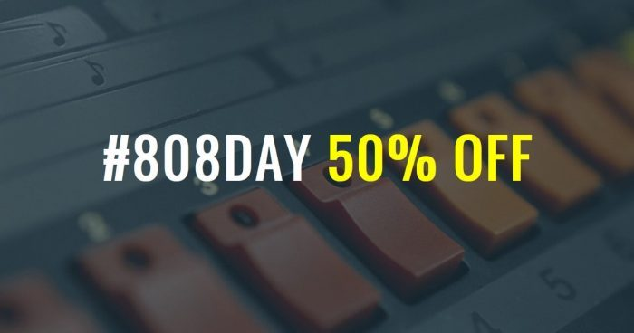 Happy 808 Day: Save 50% on selected sample packs at ProducerSpot