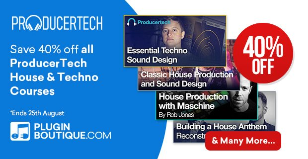 Producertech House & Techno 40% OFF