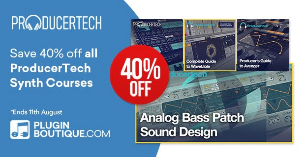 Producertech Synths Sale 40 OFF