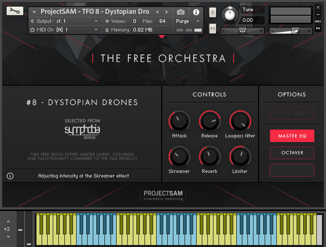 ProjectSAM The Free Orchestra Dystopian Drones for Kontakt