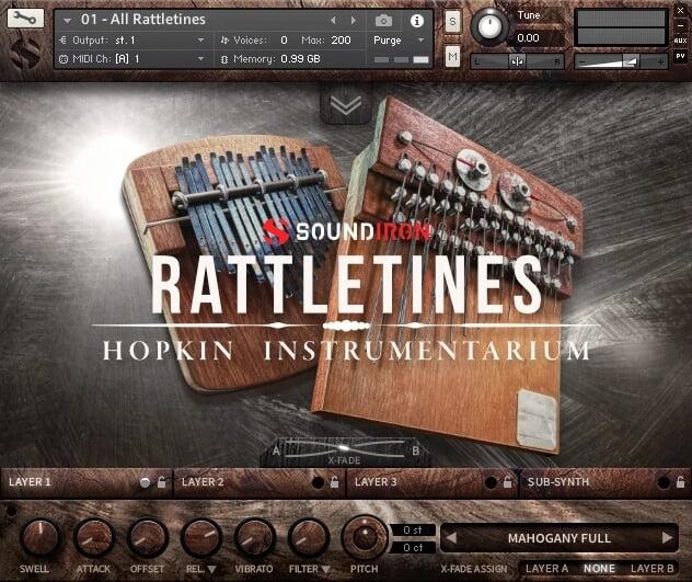Soundiron Rattletines