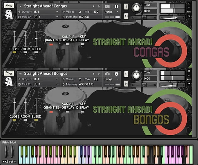 Straight Ahead Samples Bongos & Congas