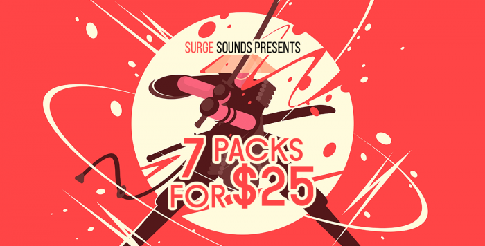 Surge Sounds 7 Packs for 25