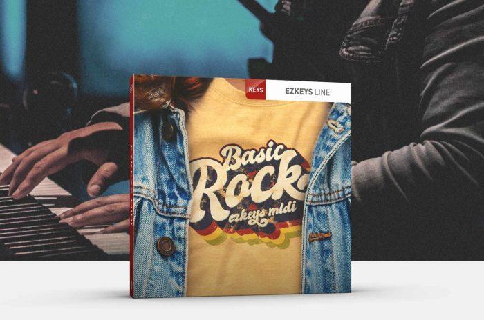 Toontrack Basic Rock EZkeys MIDI