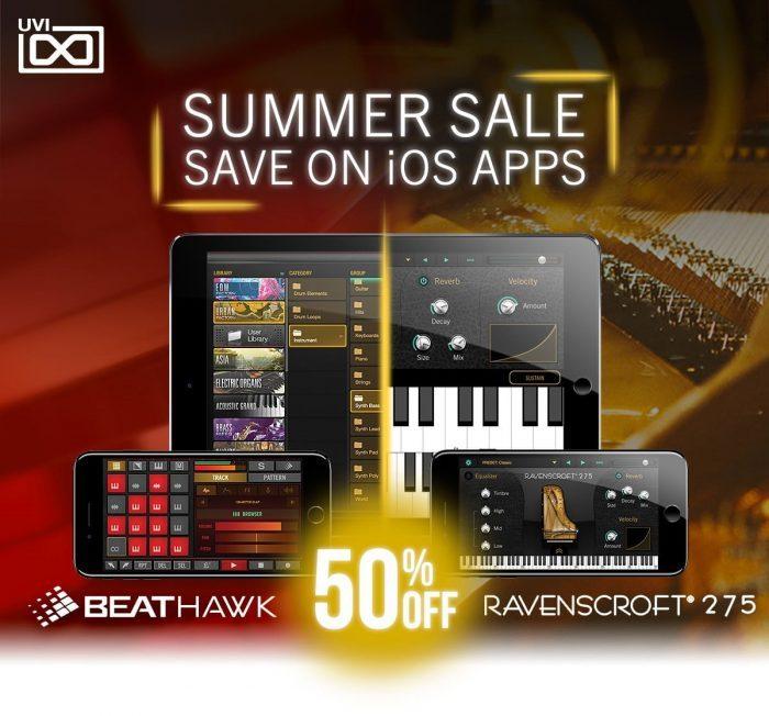 UVI iOS 50 OFF summer sale