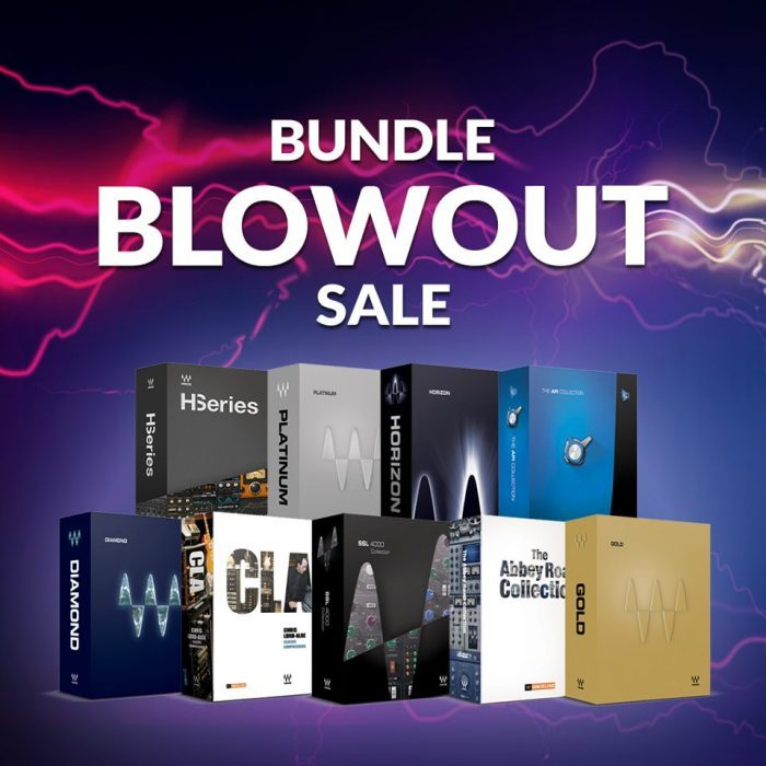 Waves Audio Bundle Blowout Sale 2019