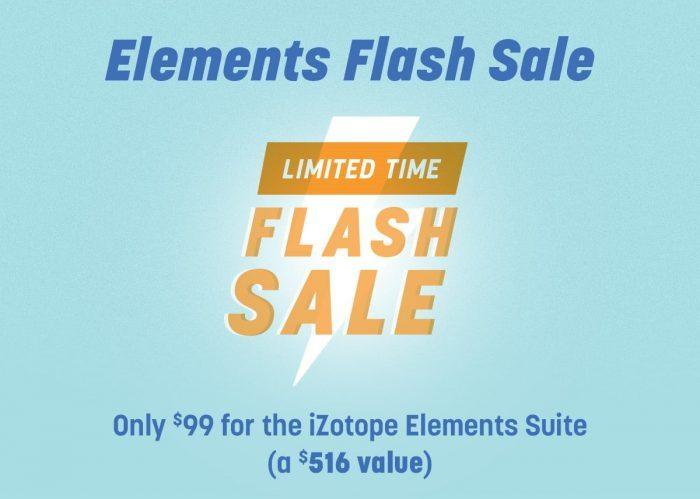 iZotope Elements Flash Sale