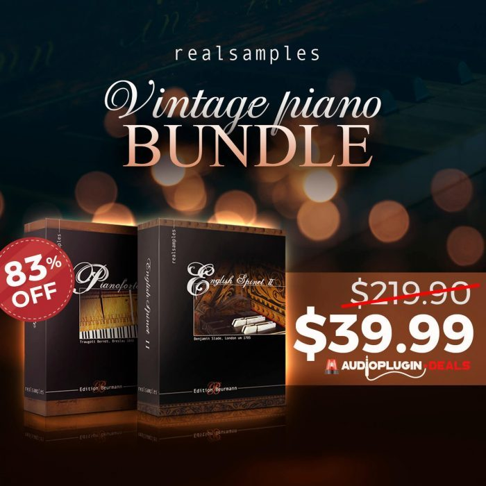 Audio Plugin Deals Realsamples Vintage Piano Bundle