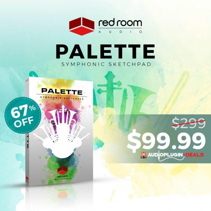 Audio Plugin Deals Red Room Audio Palette