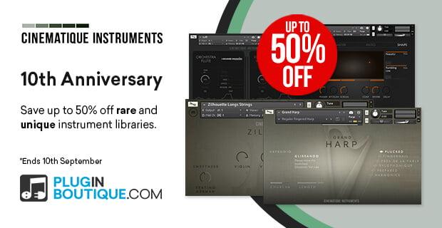 Cinematique Instruments 10th Anniversary