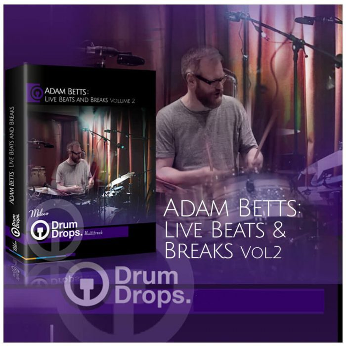 Drumdrops Adam Betts Live Beats & Breaks Vol 2