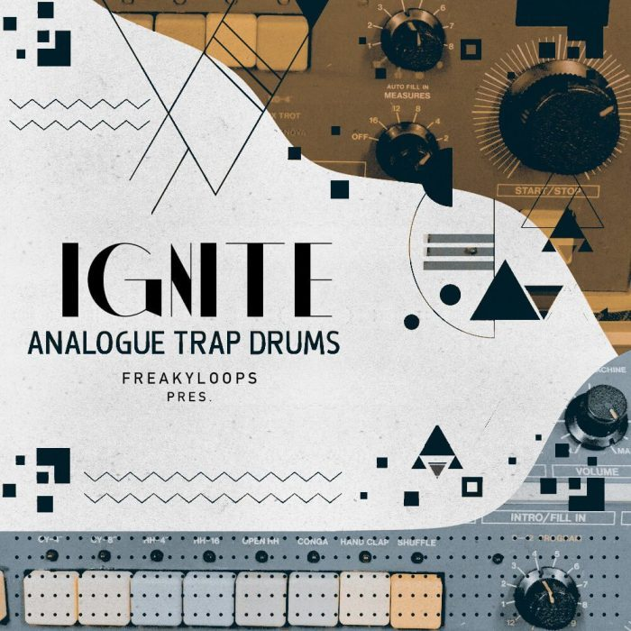 Freaky Loops Ignite Analogue Trap Drums