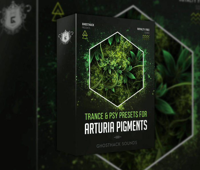 Ghosthack Trance & Psy Presets for Arturia Pigments