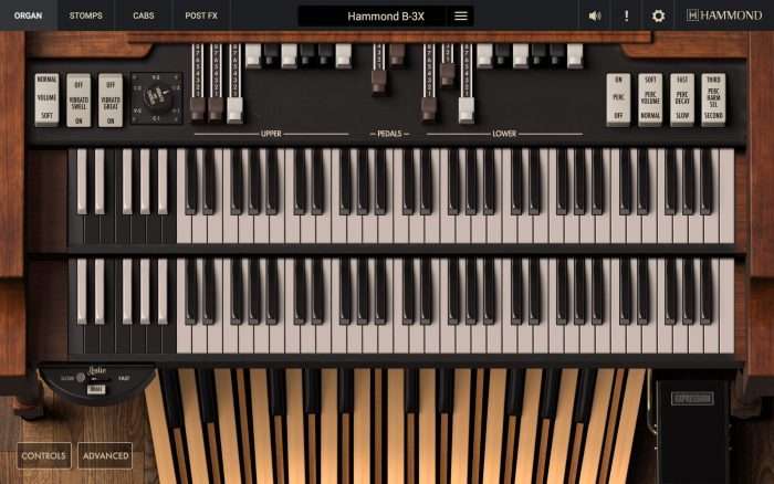 IK Multimedia Hammon DB3X organ
